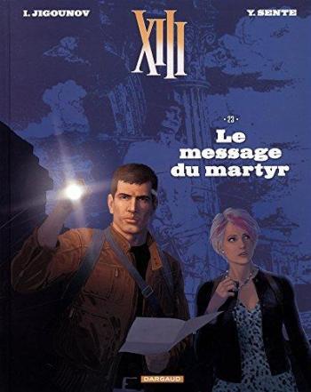 Couverture de l'album XIII - 23. Le Message du Martyr