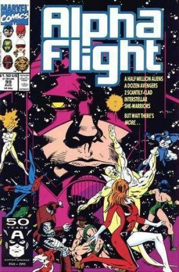 Couverture de l'album alpha flight (serie 1) - 99. The Final Option (Part 3): Decisions of Loyalty