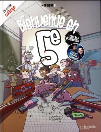 Couverture de l'album Bienvenue en 5e - 1. Tableau d'horreur
