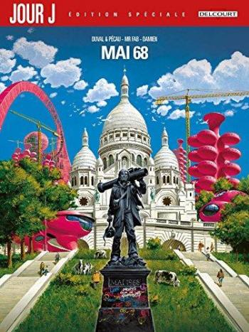 Couverture de l'album Jour J - HS. Mai 68