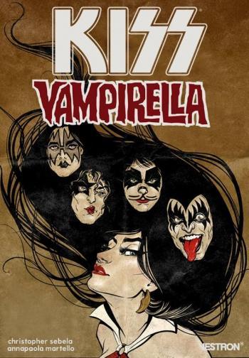 Couverture de l'album Vestron - 7. KISS Vampirella
