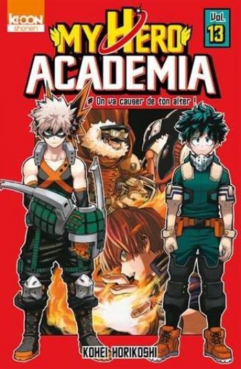 Couverture de l'album My Hero Academia - 13. On va causer de ton alter !