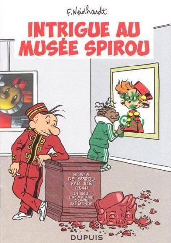 Couverture de l'album Spouri et Fantaziz - 6. Intrigue au musée spirou