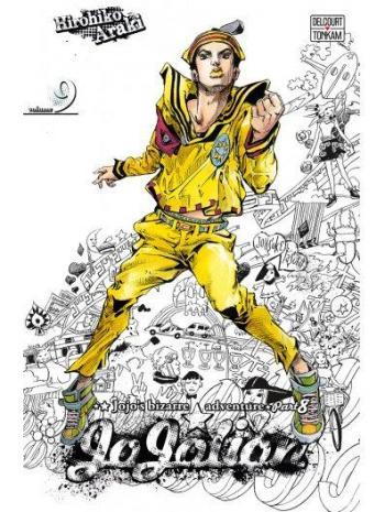Couverture de l'album Jojo's Bizarre Adventure - Saison 8 - Jojolion - 9. Jobin Higashikata, le fils aîné
