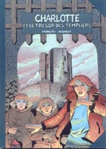 Couverture de l'album Charlotte et le trésor des Templiers (One-shot)