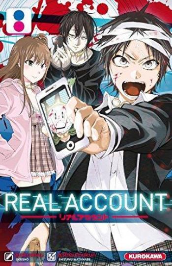 Couverture de l'album Real Account - 8. Real Account - Tome 8
