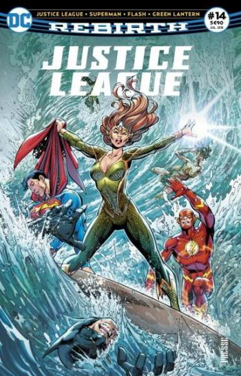 Couverture de l'album Justice League Rebirth (Urban Presse) - 14. Flash tombe du côté obscur !