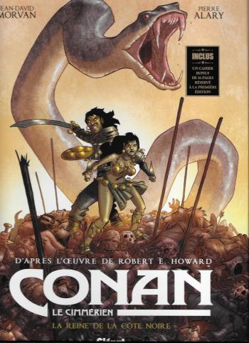 Couverture de l'album Conan le Cimmérien - 1. La Reine de la côte noire