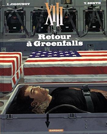 Couverture de l'album XIII - 22. Retour à Greenfalls