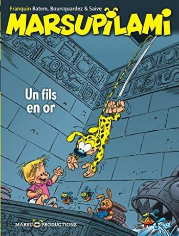 Couverture de l'album Marsupilami - 14. Un fils en or
