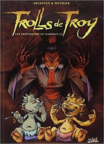 Couverture de l'album Trolls de Troy - 9. Les prisonniers du Darshan (I)