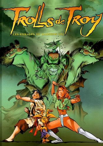 Couverture de l'album Trolls de Troy - 10. Les enragés du Darshan (II)