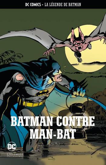 Couverture de l'album DC Comics - La légende de Batman - 14. Batman contre Man-Bat