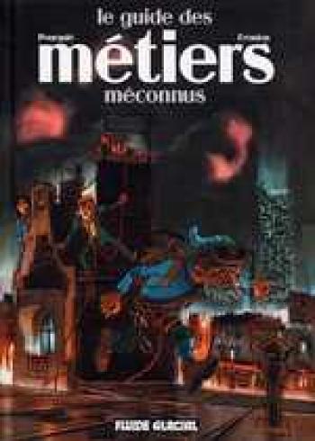 Couverture de l'album Le guide des métiers méconnus (One-shot)