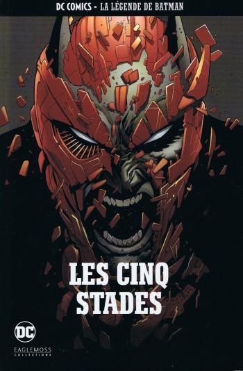 Couverture de l'album DC Comics - La légende de Batman - 73. Les cinq stades