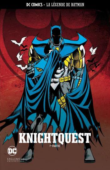 Couverture de l'album DC Comics - La légende de Batman - 23. Knightquest - 1re partie