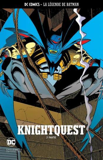 Couverture de l'album DC Comics - La légende de Batman - 24. Knightquest - 2e partie