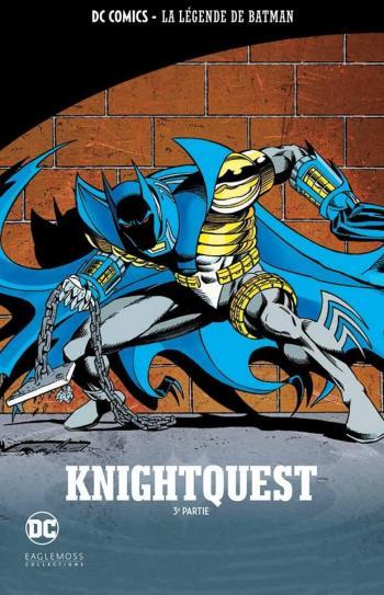 Couverture de l'album DC Comics - La légende de Batman - 25. Knightquest - 3e partie