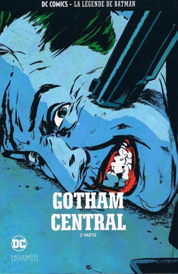 Couverture de l'album DC Comics - La légende de Batman - HS. Gotham central - 2e partie