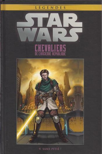 Couverture de l'album Star Wars (Collection Hachette) - 14. Chevaliers de l'ancienne République - V. Sans pitié !