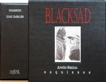 Couverture de l'album Blacksad - 2. Arctic-Nation - esquisses
