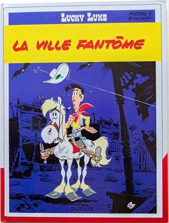 Couverture de l'album Lucky Luke - 25. La Ville fantôme