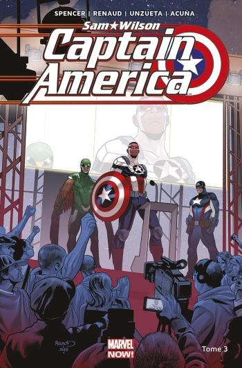 Couverture de l'album Captain America - Sam Wilson - 3. Qui mérite le bouclier