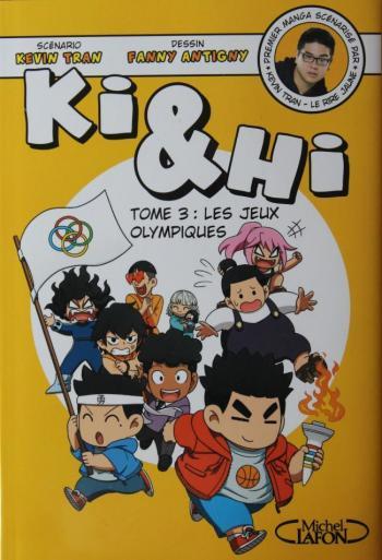 Couverture de l'album Ki & Hi - 3. Les Jeux olympiques