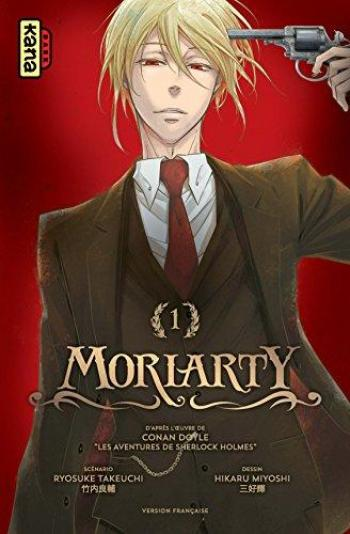 Couverture de l'album Moriarty - 1. Tome 1