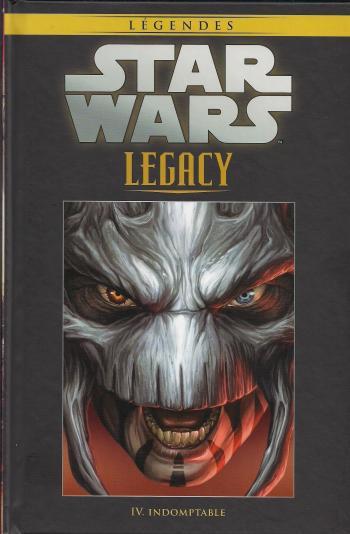 Couverture de l'album Star Wars (Collection Hachette) - 88. Legacy - IV Indomptable