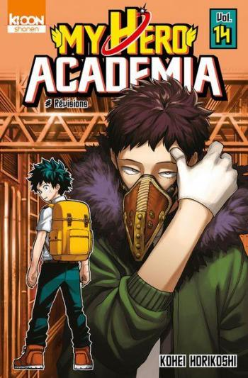Couverture de l'album My Hero Academia - 14. Overhaul