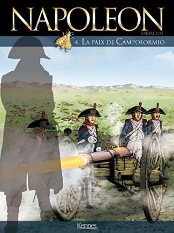 Couverture de l'album Napoléon (Osi) - 4. La Paix de Campoformio