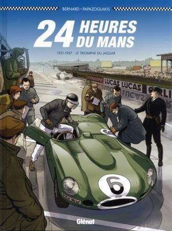 Couverture de l'album 24 Heures du Mans - 5. 1951-1957 : Le Triomphe de jaguar