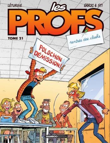 Couverture de l'album Les Profs - 21. Rentrée des clashs