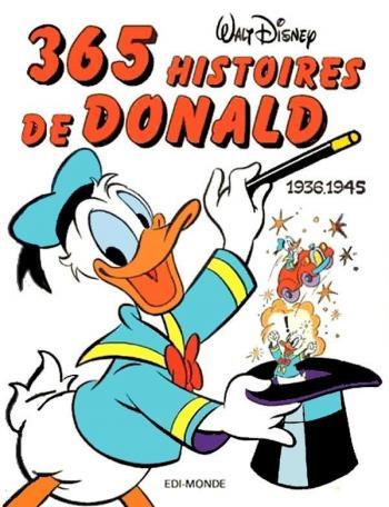 Couverture de l'album 365 histoires de Donald (One-shot)