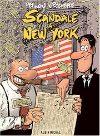 Couverture de l'album Scandale à New York (One-shot)