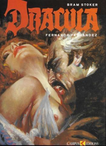 Couverture de l'album Dracula (Fernandez) (One-shot)
