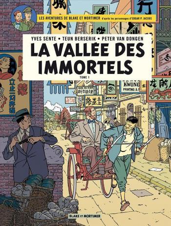 Couverture de l'album Blake et Mortimer (Blake et Mortimer) - 25. La Vallée des Immortels (Tome 1)