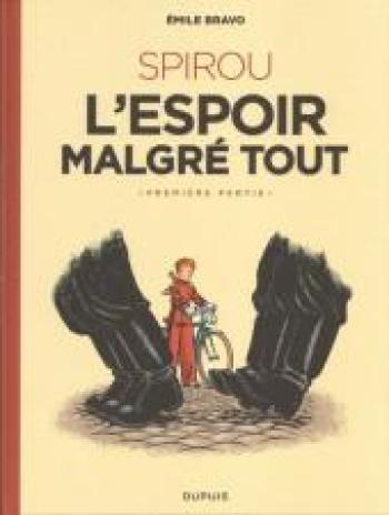 Couverture de l'album Une aventure de Spirou et Fantasio par... (Le Spirou de…) - 14. Spirou ou l'espoir malgré tout (Première partie)