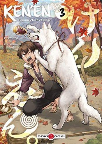 Couverture de l'album Ken'en - Comme chien et singe - 3. Ken'en - Tome 3