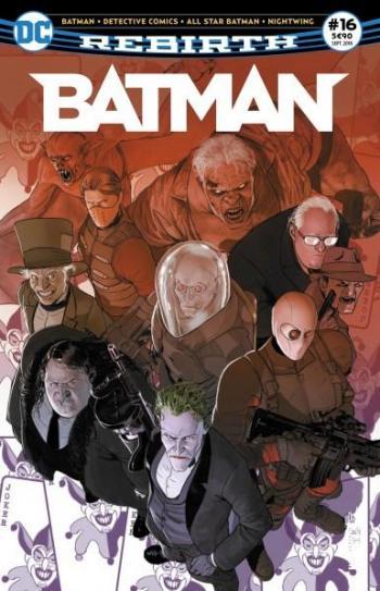 Couverture de l'album Batman Rebirth (Urban Presse) - 16. Le choix d'une vie !