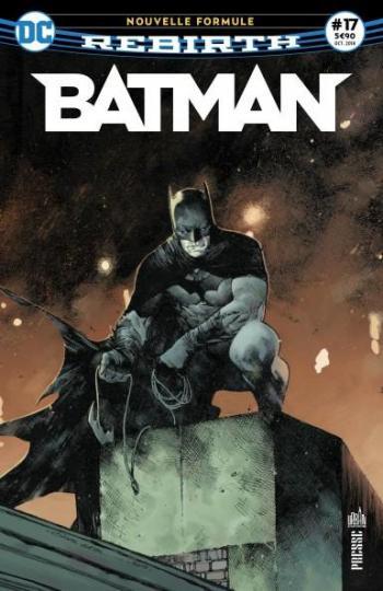 Couverture de l'album Batman Rebirth (Urban Presse) - 17. Nouvelle formule !