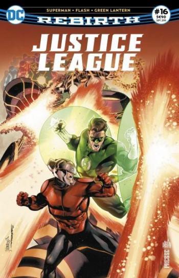 Couverture de l'album Justice League Rebirth (Urban Presse) - 16. Les Neo-Dieux sont condamnes !