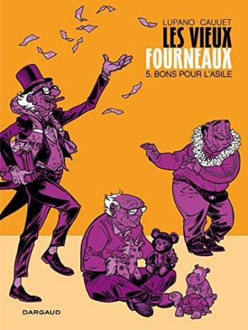 Couverture de l'album Les Vieux Fourneaux - 5. Bons pour l'Asile