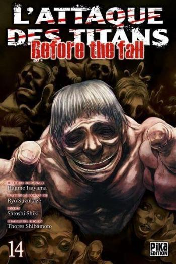 Couverture de l'album L'Attaque des Titans - Before the Fall - 14. Before the Fall - Tome 14