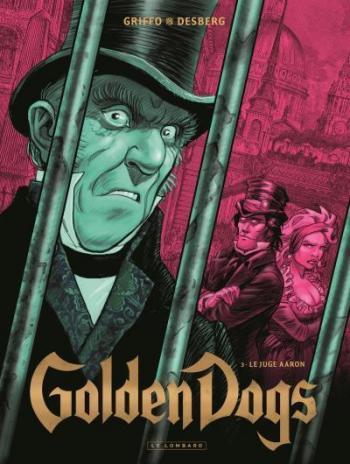 Couverture de l'album Golden Dogs - 3. Le Juge Aaron