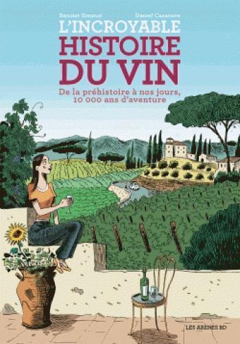Couverture de l'album L'Incroyable histoire du vin (One-shot)