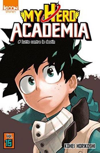 Couverture de l'album My Hero Academia - 15. Lutte contre le destin