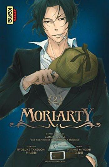 Couverture de l'album Moriarty - 2. Tome 2