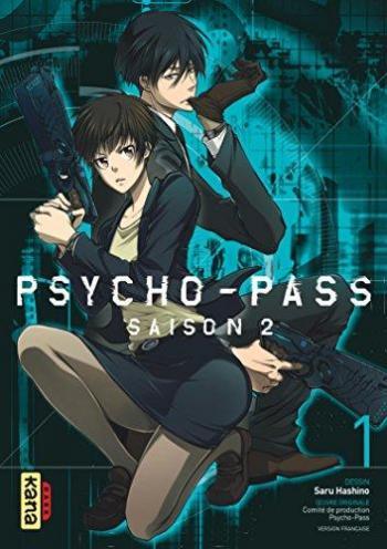 Couverture de l'album Psycho-Pass - Saison 2 - 1. Tome 1